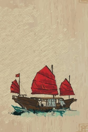 Sanpan Red Sails Grid Notebook: 150 Page: Services, N. D.