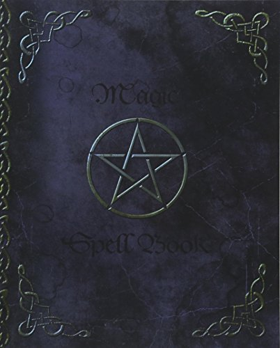 9781539647775: Magic Spell Book: of Shadows / Grimoire ( Gifts ) [ 90 Blank Attractive Spells Records & more * Paperback Notebook / Journal * Large * Pentacle ] (Magick Gifts)
