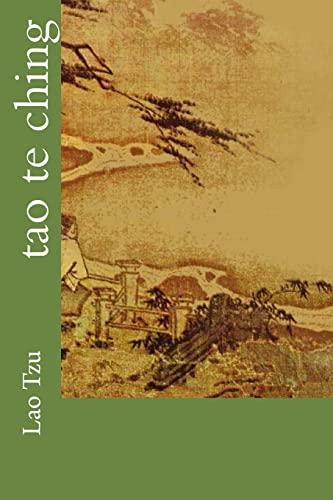 9781539691402: Tao Te Ching