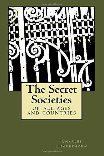 9781539693239: The Secret Societies: of all ages and countries