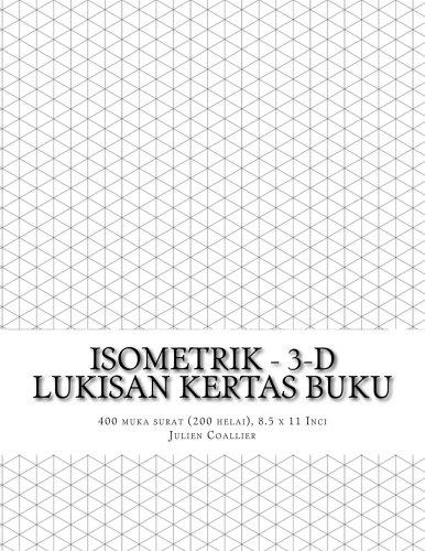 Isometrik - 3-D Lukisan Kertas Buku: 400: Coallier, Julien