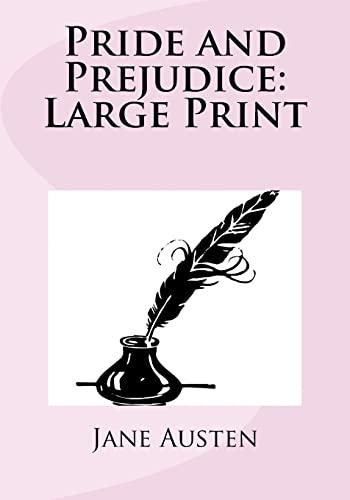 9781539728832: Pride and Prejudice: Large Print