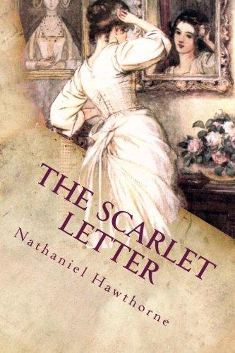The Scarlet Letter: Illustrated (Paperback): Hawthorne