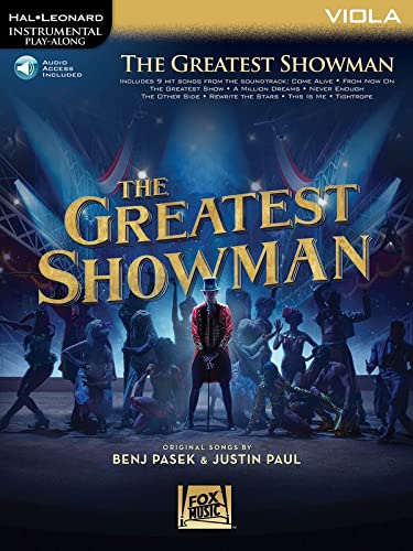 9781540028488: Instrumental Play-Along: The Greatest Showman - Viola (Book/Online Audio) (Hal Leonard Instrumental Play-Along)