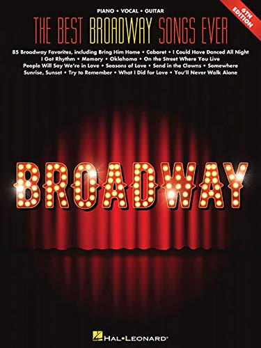 9781540049544: The Best Broadway Songs Ever (Best Ever)