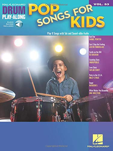 9781540059161: Pop Songs for Kids: Drum Play-Along Volume 53