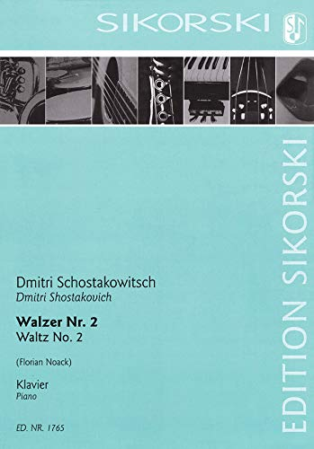 9781540080608: Waltz No. 2: Arranged for Solo Piano