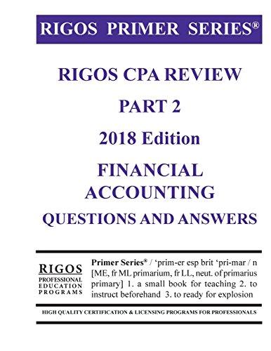 Rigos Primer Series CPA Exam Review MR James J