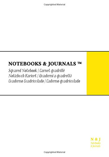 Cuaderno Notebooks & Journals, Extra Large, Cuadriculado,: Journals, Notebooks and