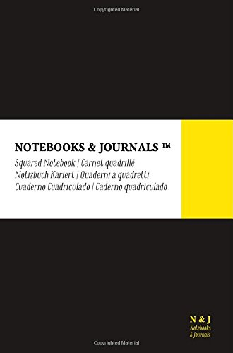 Cuaderno Notebooks & Journals, Pocket, Cuadriculado, Negro,: Journals, Notebooks and