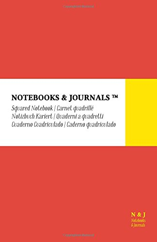 Cuaderno Notebooks & Journals, Large, Cuadriculado, Coral,: Journals, Notebooks and
