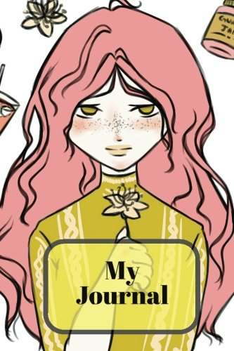 My Journal: Pink Haired Girl | Ruled notebook, Jotter, Memory Book To Write In | Teenagers, Girls, ...