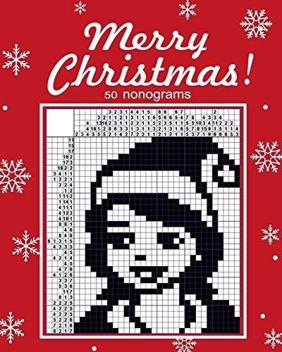 9781540582553: Merry Christmas! nonograms.