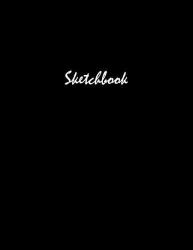 """Basic Black Sketchbook 8.5"""""""" x 11"""""""""""