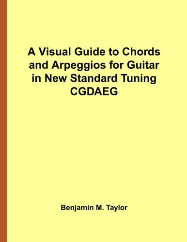A Visual Guide to Chords and Arpeggios for 8-String Guitar in EBEADGBE A Reference Text for Classical Blues and Jazz Chords//Arpeggios