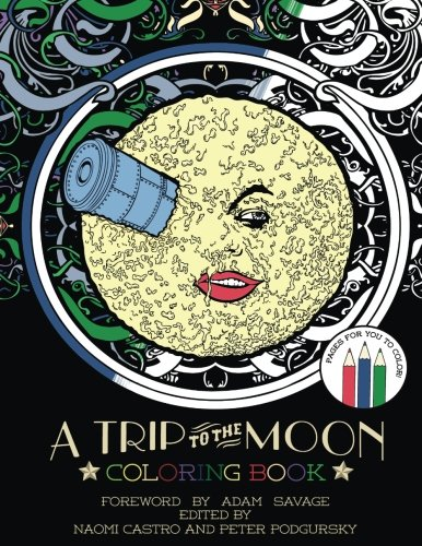 A Trip To The Moon Coloring Book