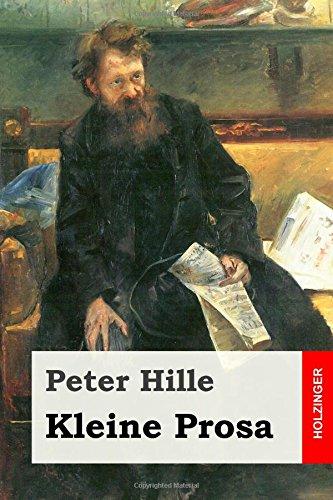 Kleine Prosa (Paperback): Peter Hille