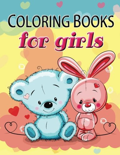9781541198470: Cute Coloring Book for Girls: The Really Best ...