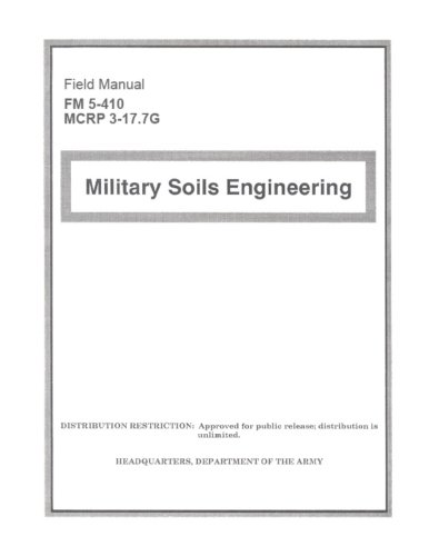 Field Manual FM 5-410 McRp 3-17.7g Military: Us Army, United