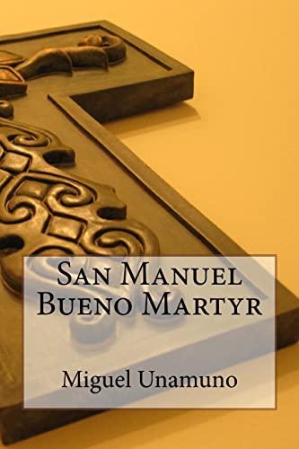 9781542363259: San Manuel Bueno Martyr