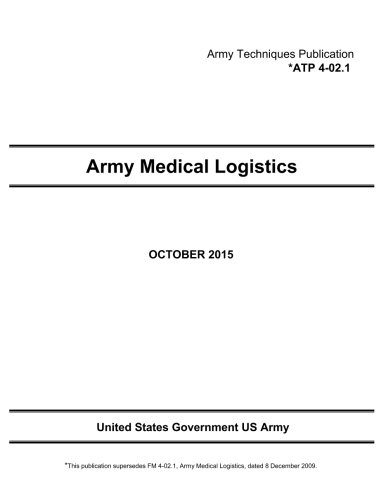 Army Techniques Publication ATP 4-33 Maintenance Operations April 2014: United States Government US...