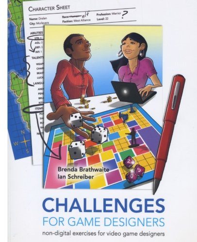 9781542453318: Challenges for Games Designers: Non-Digital Exercises for Video Game Designers