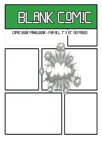 graphic relating to Comic Book Paper Printable known as 9781542494175: Blank Comedian: Comedian Reserve Panelbook - for all