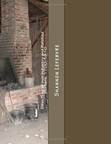 Directory of Iron Industry and Related Workers,: Lefebvre, Shannon