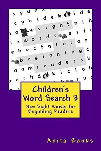 Children's Word Search 3: New Sight Words for Beginning Readers (Sight Word Puzzles for New ...