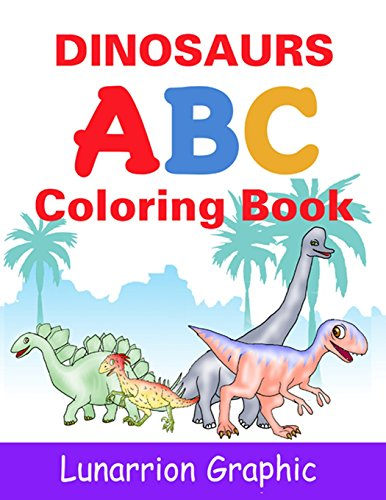 Dinosaurs ABC Coloring Book for Kids (Paperback)