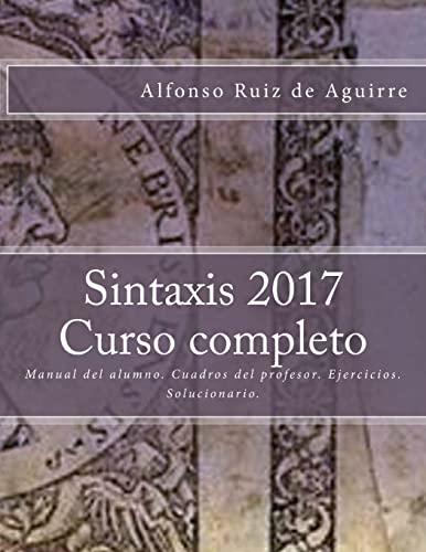 9781542793971: Sintaxis 2017 Curso completo
