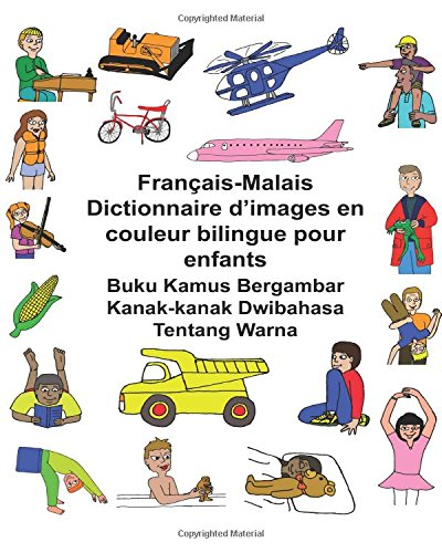 Francais-Malais Dictionnaire D Images En Couleur Bilingue: Richard Carlson Jr