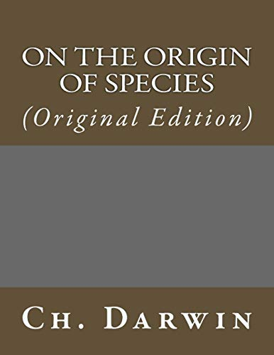 9781543188707: On the Origin of Species: (Original Edition) (Best Sellers: Classic Books)