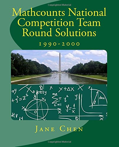 Mathcounts National Competition Team Round Solutions: Chen, Jane