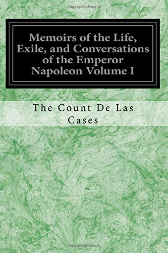 Memoirs of the Life, Exile, and Conversations: Cases, The Count
