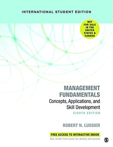 9781544331331: Management Fundamentals: Concepts, Applications, and Skill Development (International Edition)