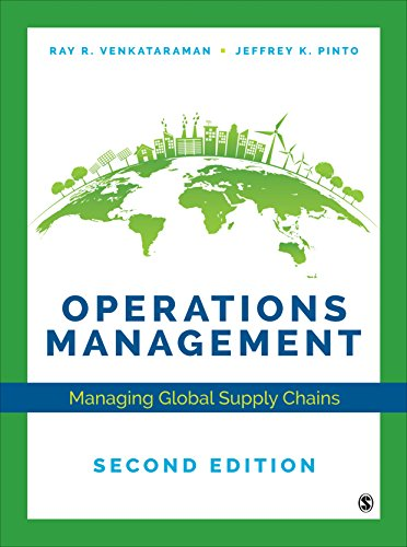 9781544339399: Operations Management: Managing Global Supply Chains