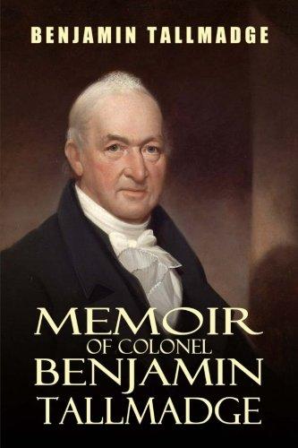 9781544617404: Memoir of Colonel Benjamin Tallmadge