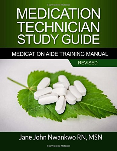 9781544767024: Medication Technician Study Guide: Medication Aide Training Manual
