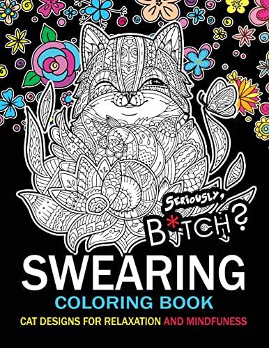 Swearing Coloring Book An Adult Swear Word