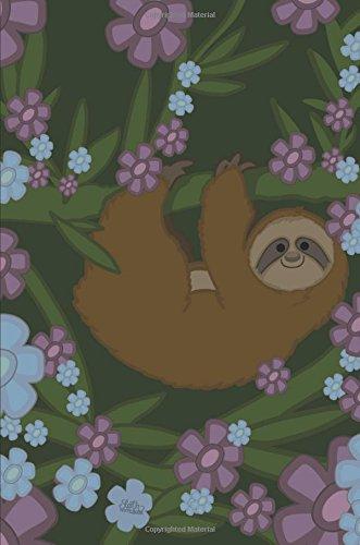 Sloth Notebook: Super Cute Lined Notebook: 100: Notebooks, Pretty