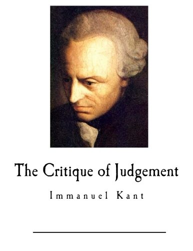 9781545245675: The Critique of Judgement: Immanuel Kant