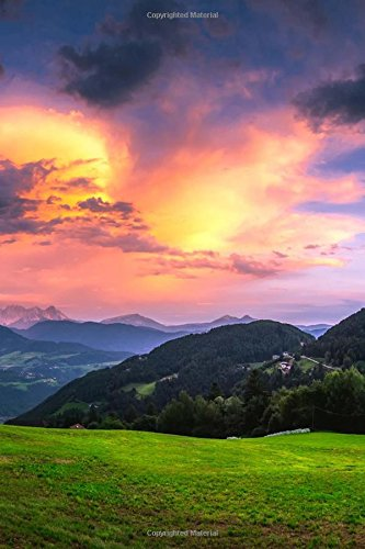 A Lovely Sunset Over the Italian Countryside: Creations, Cs