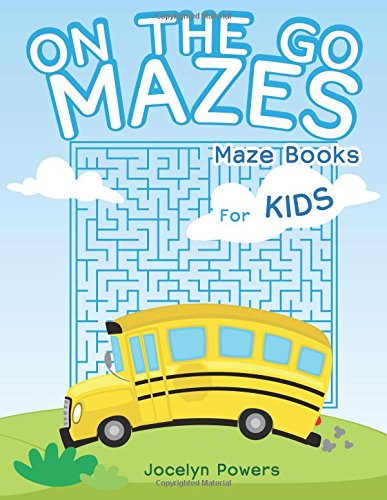 On the Go Mazes: Maze Books for: Powers, Jocelyn
