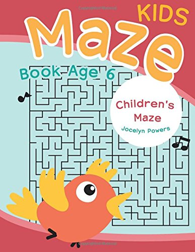 Kids Maze Book Age 6: Children's Maze: Powers, Jocelyn