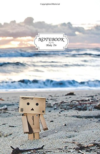 Notebook :Danbo on the beach: Journal Dot-Grid,Graph,Lined,Blank No Lined, Small Pocket Notebook ...
