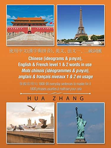 Chinese (Ideograms & P?ny?n), English & French: Zhang, Hua