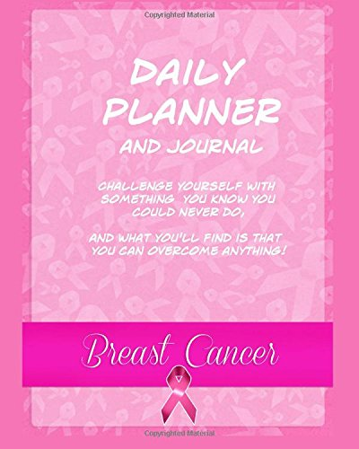 9781546426493 daily planner and journal breast cancer