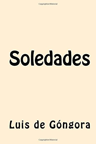 9781546451082: Soledades (Spanish Edition)