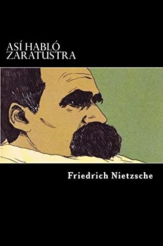 9781546460190: Asi Hablo Zaratustra (Spanish Edition)